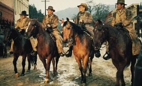 The Great Northfield Minnesota Raid - Cliff Robertson, Robert Duvall, Luke Askew - Western Movie.