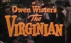 1946 THE VIRGINIAN TRAILER JOEL McCREA BARBARA BRITTON