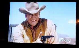 Matt Dillon in Gunsmoke was a REALLY fast draw