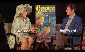 I was a TV Western Tart on GUNSMOKE & MAVERICK! says Ruta Lee on A WORD ON WESTERNS