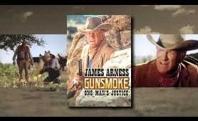 GUNSMOKE! The TV movies & James Arness with producer Norman S. Powell