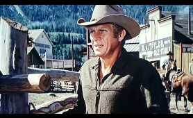 Scene from Nevada Smith (1966) Starring Steve McQueen