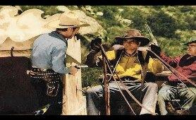 BAD MAN OF DEADWOOD - Roy Rogers, George 'Gabby' Hayes - Full Western Movie / English / HD / 720p