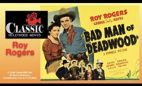 Bad Man Of Deadwood (1941) - Full Movie | Roy Rogers, George 'Gabby' Hayes, Carol Adams