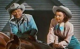Roy Rogers - Down Dakota Way - with Dale Evans