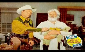 ROLL ON TEXAS MOON - Roy Rogers, George 'Gabby' Hayes - Full Western Movie / English / HD / 720p