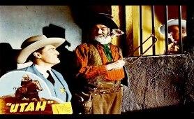 UTAH - Roy Rogers, George 'Gabby' Hayes - full Western Movie [English]