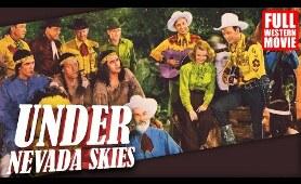 UNDER NEVADA SKIES - FULL WESTERN MOVIE - 1946 - STARRING ROY ROGERS