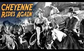 Cheyenne Rides Again - Full Movie | Tom Tyler, Lucile Browne, Lon Chaney Jr., Jimmie Fox