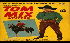 Tom Mix Western No 32 Comix Book Movie