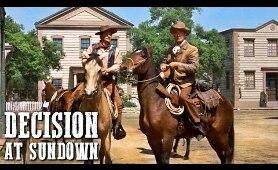 Decision at Sundown | Classic WESTERN MOVIE | Full Length | Free Cowboy Movie | Free Film | English