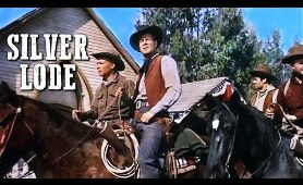 Silver Lode | Classic Film | WESTERN MOVIE | Full Length | Wild West | Cowboy Movies | Free Film