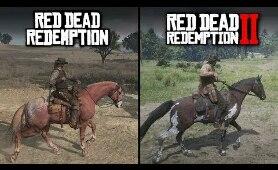 Red Dead Redemption 2 vs Red Dead Redemption | Direct Comparison