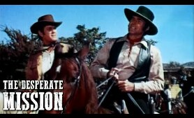 The Desperate Mission | AMERICAN WESTERN | Ricardo Montalban | Full Cowboy Movie