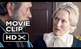 The Homesman Movie CLIP - Arriving at Mrs. Carter's (2014) - Meryl Streep, Tommy Lee Jones Movie HD