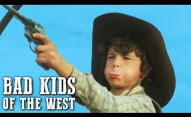 Bad Kids of the West   WESTERN Movie   Family Movie   Full Length Feature Film  Old Cowboy Film
