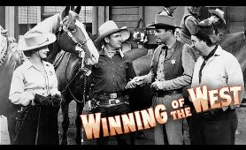 Winning Of The West (1953) | Full Movie | Gene Autry | Champion | Gail Davis | Richard Crane