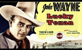 John Wayne | The Lucky Texan (1934) | Full Movie | John Wayne | Barbara Sheldon