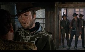 For a Few Dollars More - Clint Eastwood's Entrance (1965 HD)