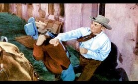 RAGE AT DAWN - Randolph Scott, Forrest Tucker, Mala Powers - Full Western Movie [English] - HD