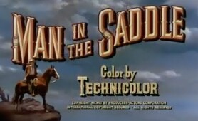Man in the Saddle - Randolph Scott