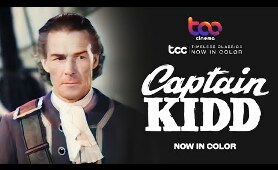 CAPTAIN KIDD (Full Movie) - Charles Laughton - Randolph Scott - TCC AI Color