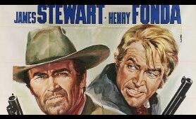 Jimmy Stewart & Henry Fonda in FIRECREEK with Jacqueline Scott