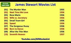 James Stewart Movies List