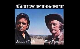 A Gunfight 1971 Full Western Movie  Starring  Kirk Douglas & Johnny Cash