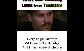 100+ Doc Holliday Lines From Tombstone