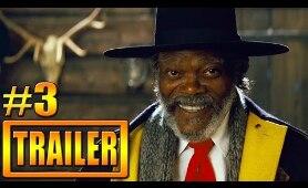 The Hateful Eight Trailer 3 Official - Kurt Russell, Samuel L. Jackson