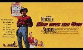 Man With the Gun Western 1955 H D  Robert Mitchum, Jan Sterling & Karen Sharpe