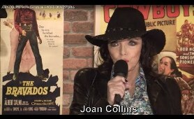 Robert Mitchum! Paul Newman! Gregory Peck! Jack Palance! Joan Collins remembers her leading men!