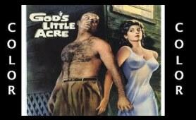 GOD'S LITTLE ACRE (1958) Robert Ryan Tina Louise - Colorized