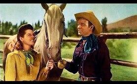 HANDS ACROSS THE BORDER - Roy Rogers, Sheila Ryan - full Western Movie [English]